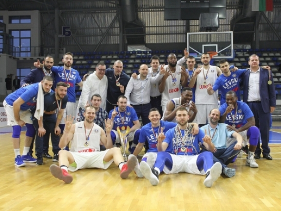 Photo-gallery from the FINAL KB Bashkimi - BC Levski Lukoil