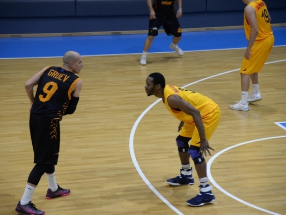 Photo-gallery from the game KK Blokotehna-NB - KB Bashkimi