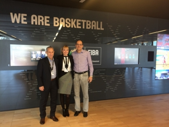 Respecting guests from FIBA to attend Final Four 2018