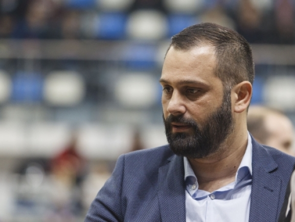 Marjan Ilievski: Probably we felt the pressure of the first home game