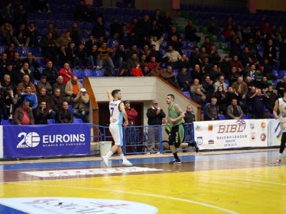 Photo-gallery from the game KS Teuta - BC Beroe