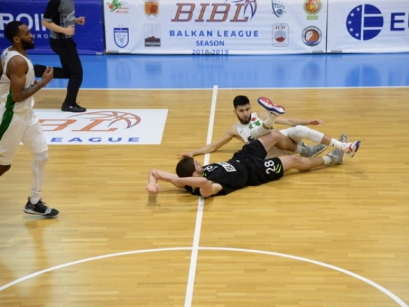 Photo-gallery from the game KK Blokotehna - BC Barsy Atyrau