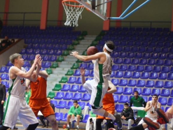 Photo-gallery from the game BC Barsy Atyrau - KB Bashkimi