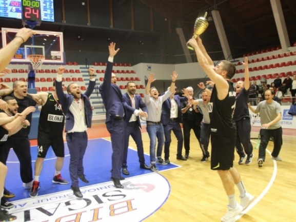 Photo-gallery from the Awards ceremony of SIGAL UNIQA Balkan League F4