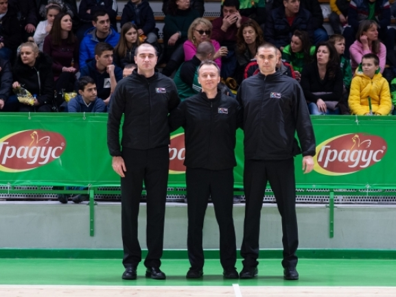 Referee nominations for SIGAL UNIQA Balkan League Final Four