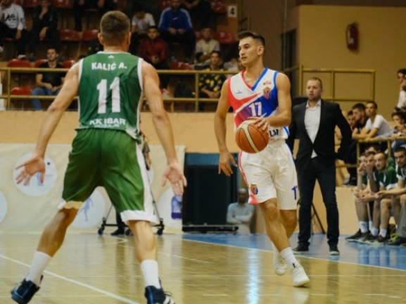 Photo-gallery from the game KB Vllaznia - KK Ibar