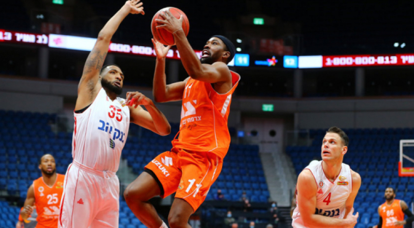 Photo-gallery from the game Hapoel Bank Yahav Jerusalem - Maccabi Rishon LeZion