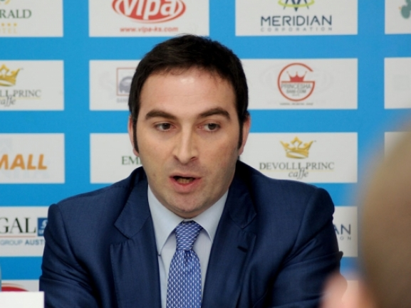 Blerand Stavileci, president of Sigal Prishtina: It′s the most important moment of my life