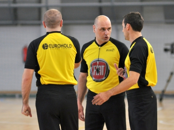 Referee nominations for the semifinals in EUROHOLD Balkan League