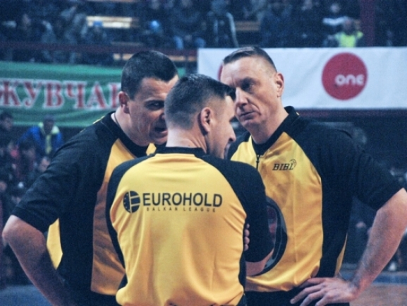 Referee nominations for the Finals in EUROHOLD Balkan League