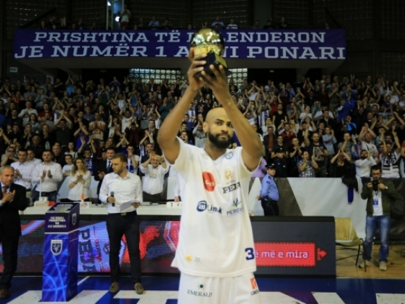 Mohamed Abukar is the MVP of SIGAL-UNIQA Balkan League