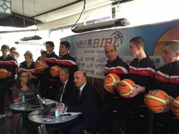 SIGAL-UNIQA Balkan League was officially presented at a press conference in Skopje