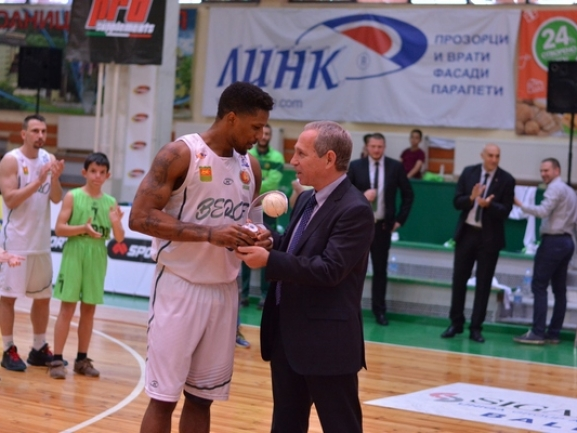 Shane Gibson is the MVP of SIGAL-UNIQA Balkan League