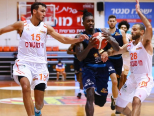 Casey Prather leads Hapoel Eilat to a 2:0 over Ironi Ness Ziona away
