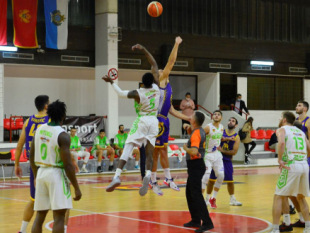 Photo-gallery from the game KK Teodo - BC Beroe