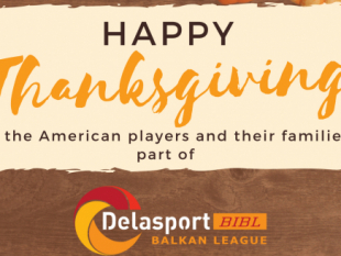 Happy Thanksgiving from Delasport Balkan League