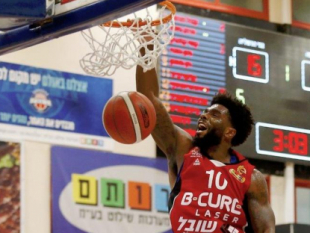 Photo-gallery from the game Bnei Herzliya - Hapoel B-Cure Laser Haifa