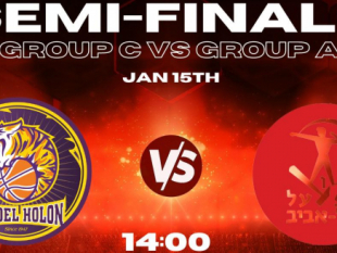 Hapoel Holon and Hapoel Tel Aviv to decide the first team to the Second Stage today
