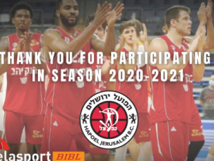 Delasport BIBL: Thank you, Hapoel Bank Yahav Jerusalem!