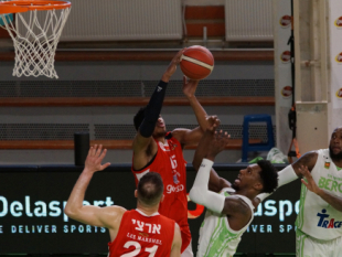 Photo-gallery from the game BC Beroe - Hapoel Gilboa Galil