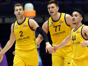 Hapoel Holon plays its best game of Stage 2 to defeat Akademik in Plovdiv