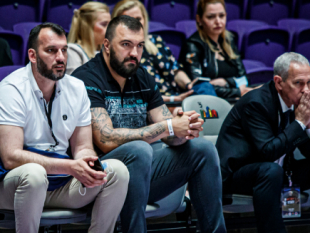 Nikola Pekovic and Pini Gershon were some of the special guests of Delasport BIBL F4 Day 1