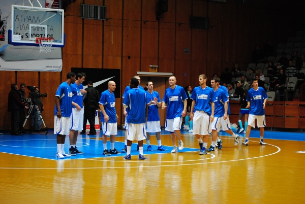 Levski reached the Final Four after an easy win in Krusevac
