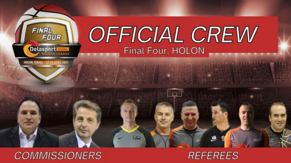 One of the referees for the Final 4 has been replaced
