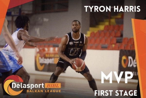 Tyron Harris is the Delasport BIBL MVP for Stage 1