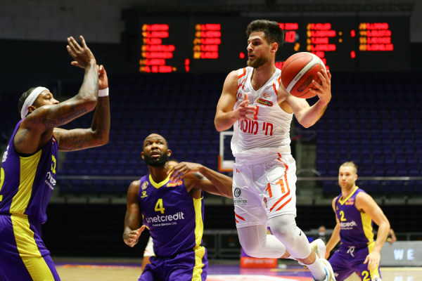 Photo-gallery from the game Hapoel Holon - Ironi Hai Motors Ness Ziona