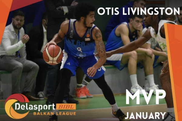 Otis Livingston is the Delasport BIBL MVP for January